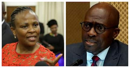 Gigaba details why he should keep his job in a report to the president