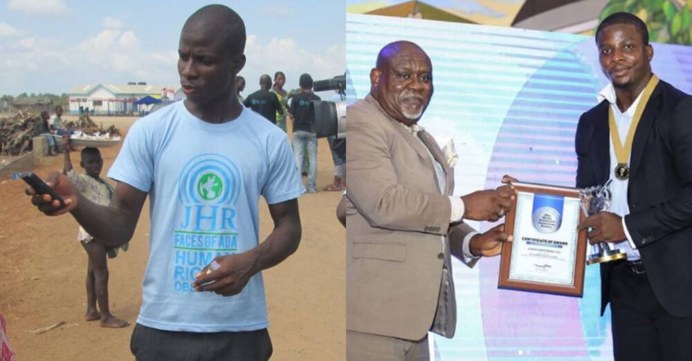 Former driver at Citi FM turns journalist; wins big award with TV3 at GJA 2020