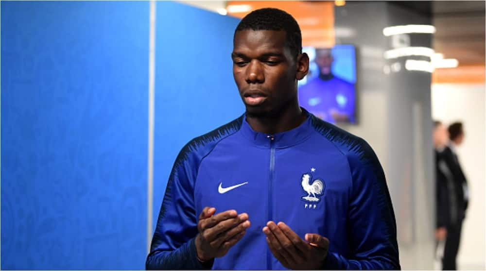 Paul Pogba denies quitting national team over President Macron's comments