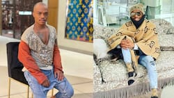 Haibo: Somizi goes on a shopping trip, greeted with empty shelves as panic buying grips Mzansi