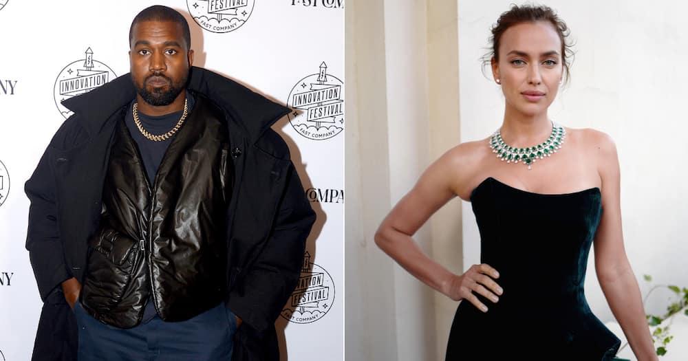 Moving on: Kanye West rumoured to be dating model, Irina Shayk