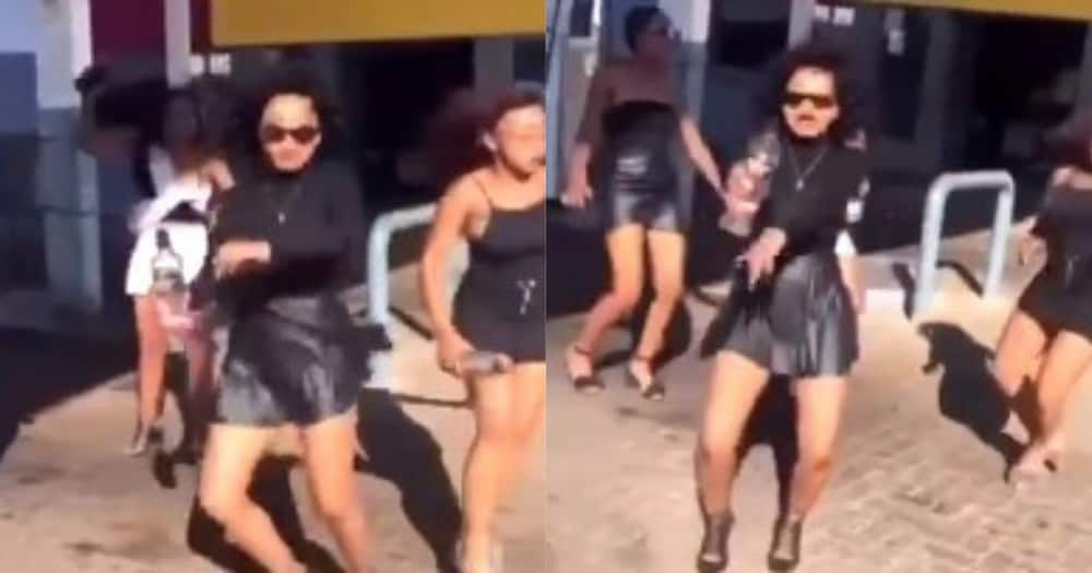 JohnVuliGateChallenge trends after video of ladies dancing at petrol station goes viral