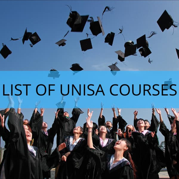 unisa courses list