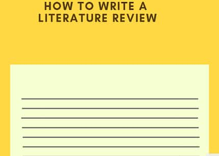 How to write a literature review - working steps