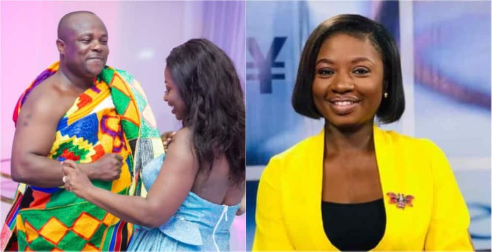 Abena Ampadu: Citi TV's newscaster honours foster dad who adopted her at age 12 after her parents died