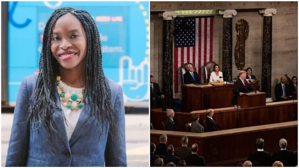 Esther has a law degree from Harvard University. Photo sources: Getty Images/Cheriss May, BBC