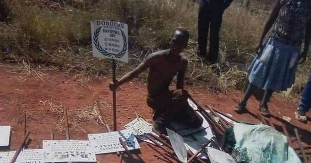 """""""This Is Nonsense"""": Locals React to Man Caught With Stolen Grave Signs"""