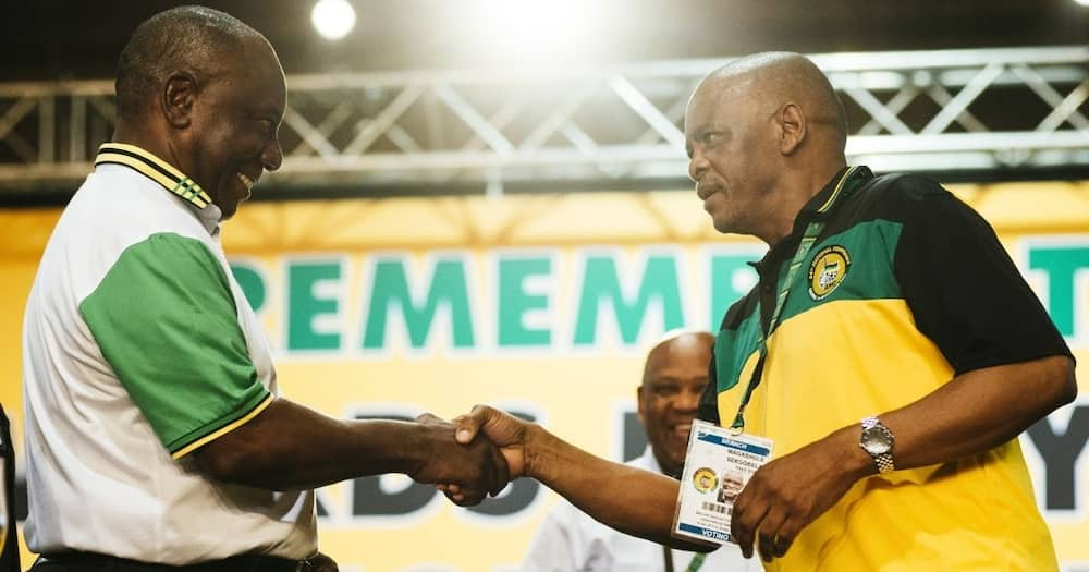 Ace Magashule says only he has power to suspend party members