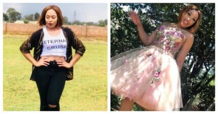 Zizo Tshwete showed Simz Ngema loving support and admiration