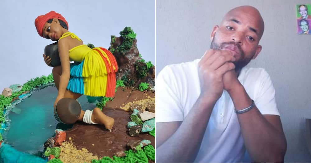 Local baker, South Africans, Heritage Day, Cake, Mzansi, Twitter, Social media, Reactions, Brilliant
