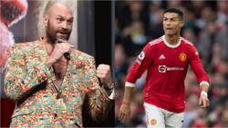 Panic at Old Trafford as Manchester-based Tyson Fury sends huge message to Cristiano Ronaldo