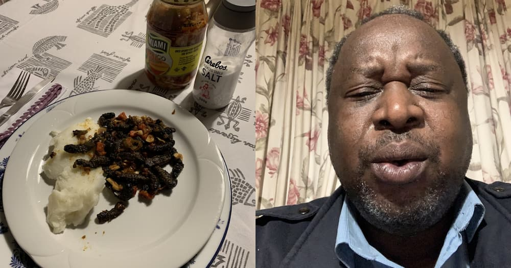 SA Has No Mercy as Tito Mboweni Learns Lesson About Eating Spicy Food