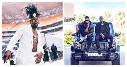 DJ Black Coffee teams up with R n' B god Usher for highly anticipated new music