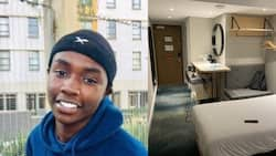 Student shares snaps of hotel that UCT booked him into, Mzansi reacts