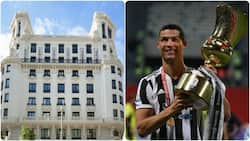 Cristiano Ronaldo set to launch new hotel in Madrid, gets shaded by Pepe