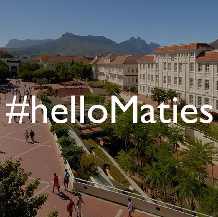 stellenbosch university online courses