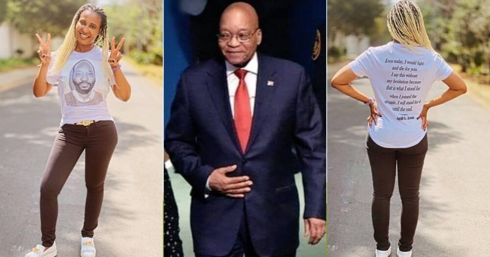 Dudu Zuma-Sambudla, Shows, Support, Msholozi, T-shirt
