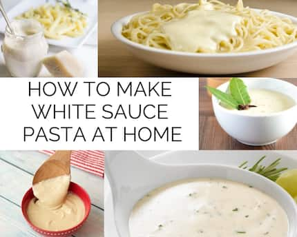 If you want to know how to make white sauce read this article. There is an extensive collection of white sauce recipes to make at home