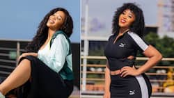 Sbahle Mpisane: Stunner shows off her gorgeous Bantu knots