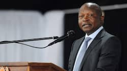 Maskless Premier: Clip of David Mabuza issuing warning surfaces online