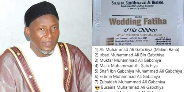 Is World Ending Tomorrow? Reactions as Man set to Marry out 10 of His Children on Same Day