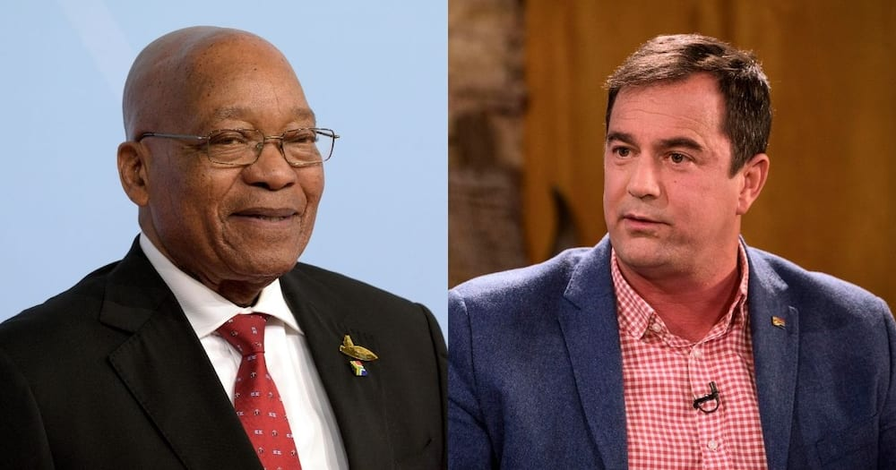 Democratic Alliance, wants urgent debate, on Zuma in Parliament