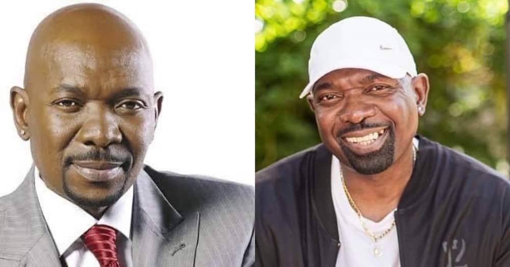 Menzi Ngubane honoured with Best Actor in a Telenovela award at Saftas