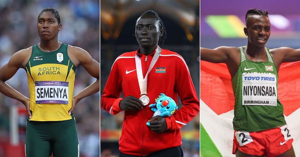Caster Semenya, Margaret Wambui, Francine Niyonsaba, Aminatou Seyni, Tokyo Olympics 2020