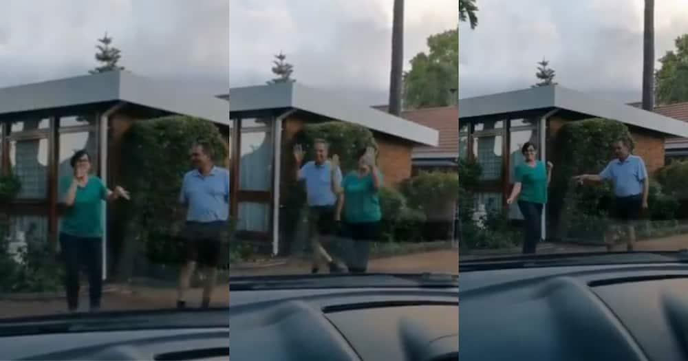 Mzansi parents dance together