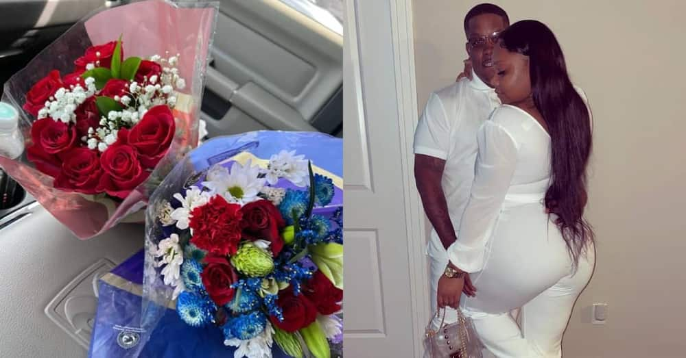 My boyfriend has bought me flowers every week since we started dating -Lady