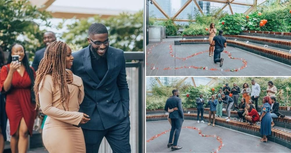 Stunning woman gets engaged to best friend, shares photos online