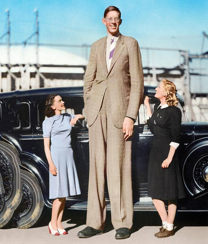 the most tallest man in the world