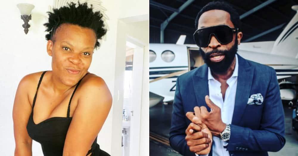Zodwa Wabantu congratulates DJ Sbu on breaking a world record