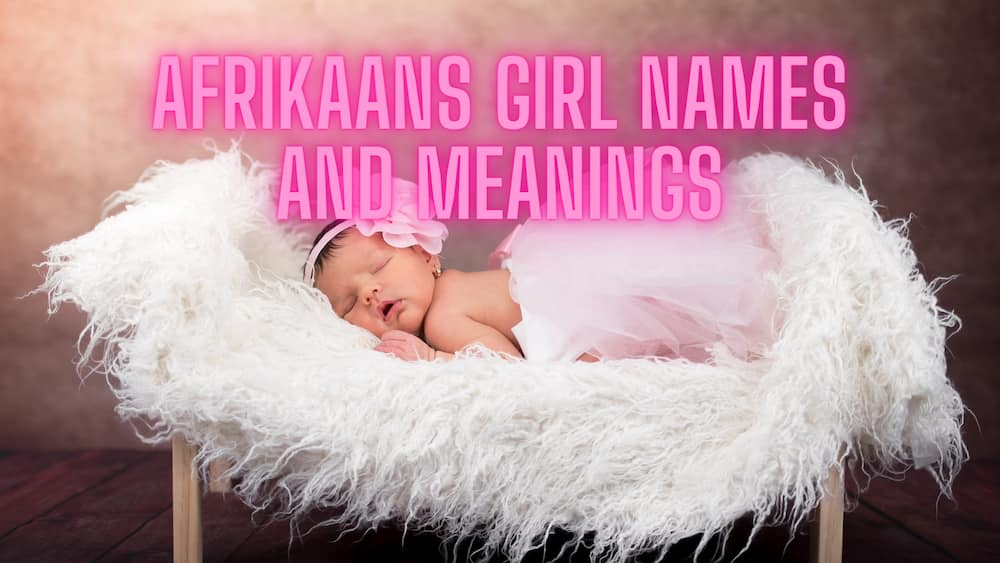What is the most common Afrikaans name?