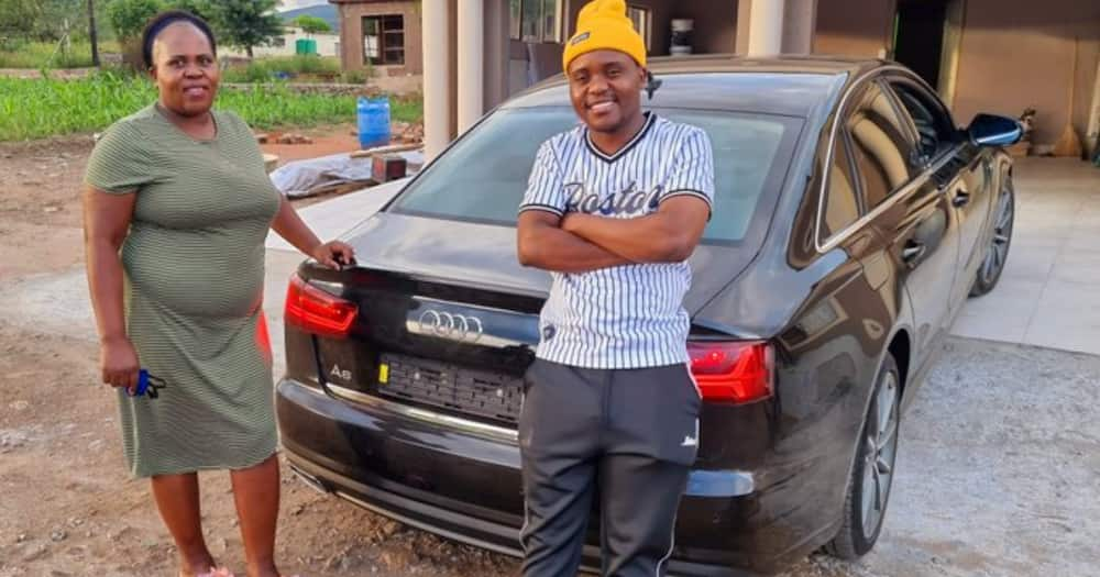 Dj Buys His Mom a Stunning Audi to Thank Her for Keeping Him in School