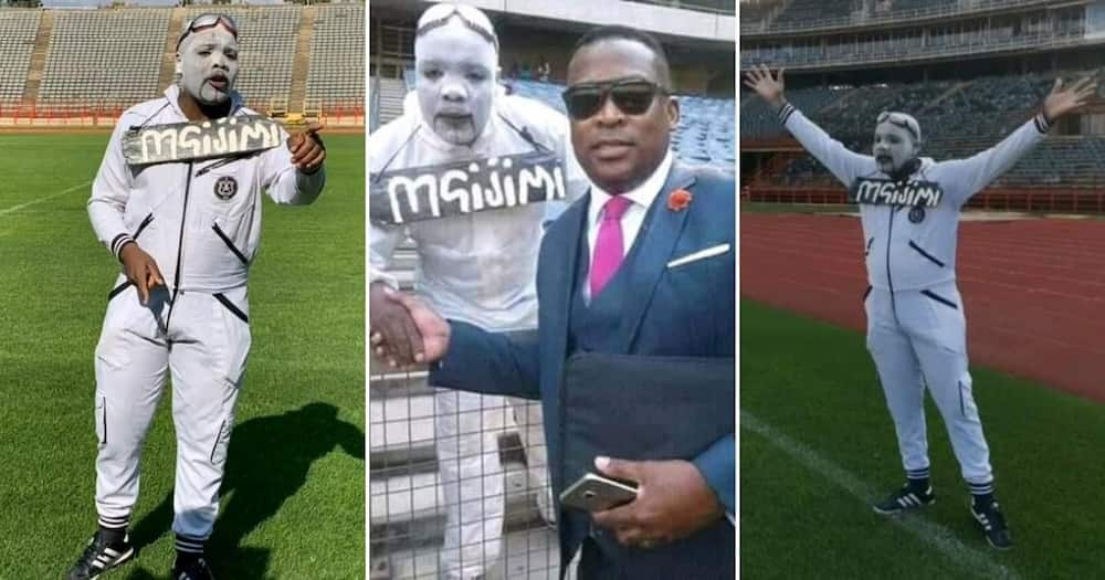 Orlando Pirates superfan Mandla 'Mgijimi' Sindane passes away
