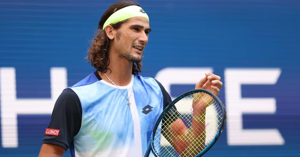 Lloyd Harris, US Open, Rafael Nadal, Novak Djokovic, Roger Federer