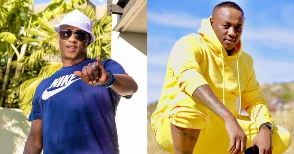 Jub Jub, 'Uyajola 9/9', side guy, proposes, young woman, in front of bae