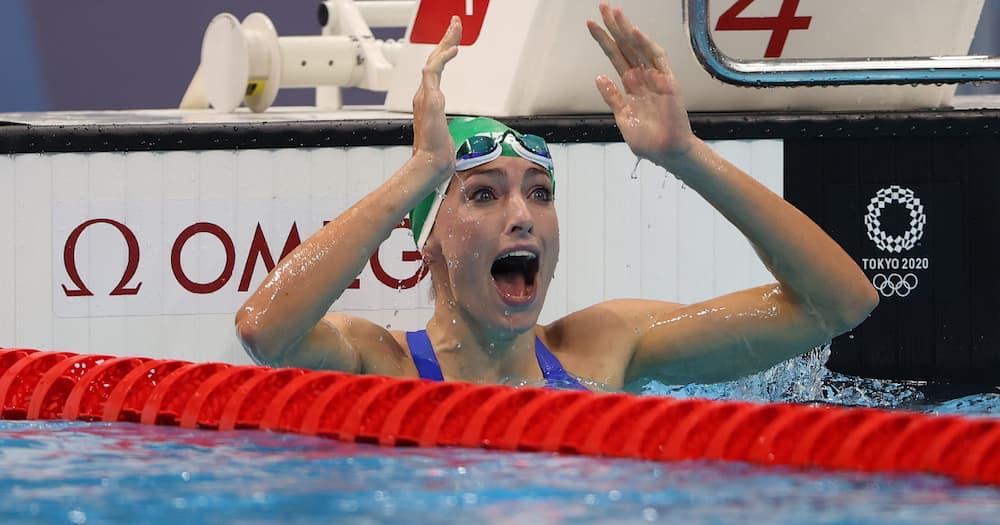 Tokyo Olympics, Tatjana Schoenmaker, gold medal, world record, Mzansi, Team SA