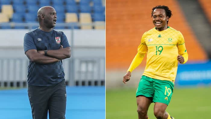 Pitso Mosimane's Al Ahly reportedly in talks for Percy Tau's signature
