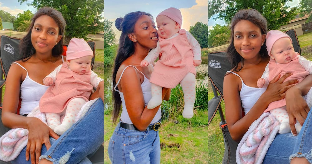 Proud Mom Shows off Adorable Baby Girl, Rakes Hundreds of Compliments