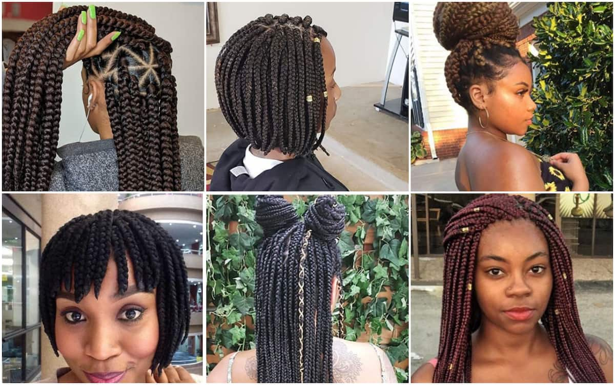 Braids Hairstyles 2017\2019 Straight Up