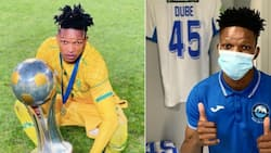 Kaizer Chiefs confirm the signing of Austin Dube from Richards Bay