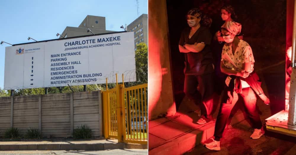 DA Shadow Health MEC, Jack Bloom, Reopening, Charlotte Maxeke Johannesburg Academic Hospital, CMJAH, Fire, Apartheid, Minister of Health, Mmamoloko Kubayi-Ngubane