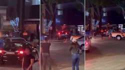 Angry ex-boyfriend crashes into busy Rosebank café, Mzansi questions state of GBV