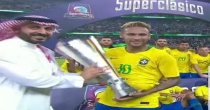 Brazil sneak a last minute win over rivals Argentina in Saudi Arabia