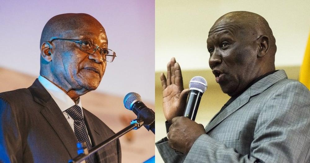 Saps dismiss threats, arresting Zuma, before jail time