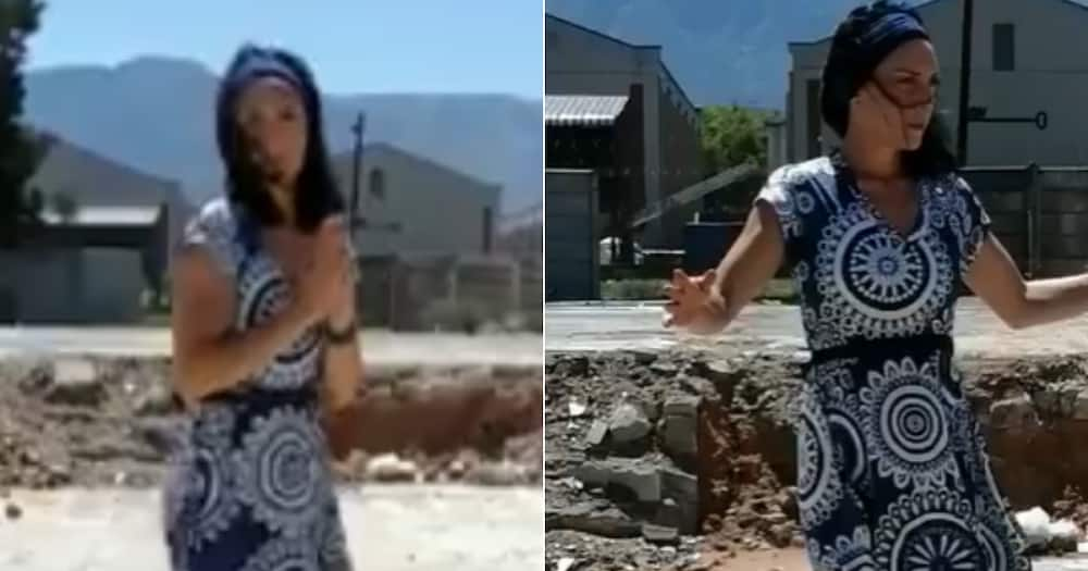 Woman dancing to gospel song goes viral and touches Mzansi hearts