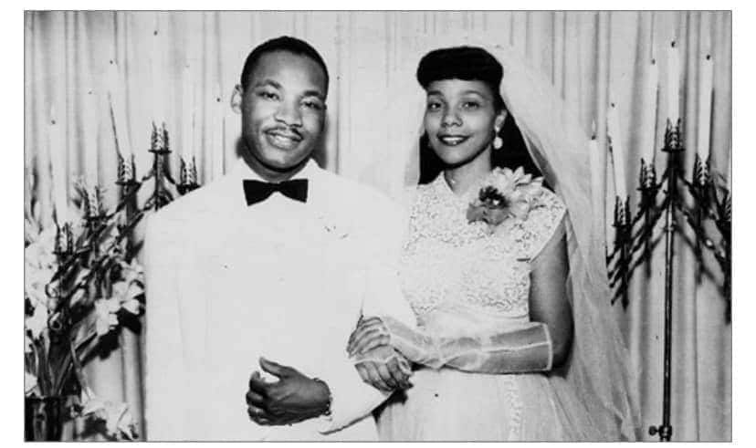 Martin Luther King Jr's family celebrates civil rights leader, wife's 67th wedding anniversary