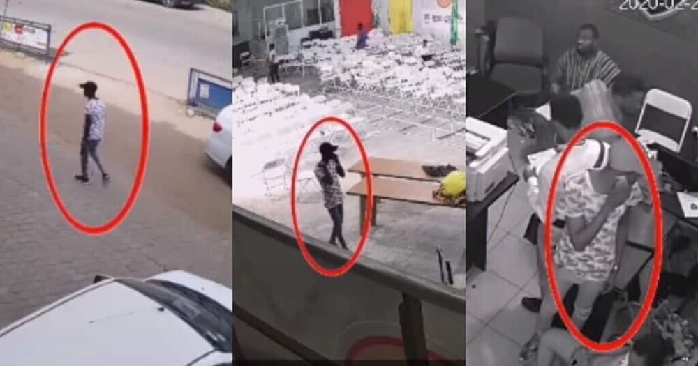 Snapped: Smart Campus Thief Recorded in the Act on CCTV Cameras